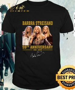 Hot Barbra Streisand 59th Anniversary 1961 2020 signature shirt 1 1 247x296 - Hot Barbra Streisand 59th Anniversary 1961-2020 signature shirt