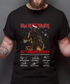 Hot Iron Maiden Santa 45th anniversary 1975 2020 signatures shirt 2 1 247x296 - Hot Iron Maiden Santa 45th anniversary 1975 2020 signatures shirt