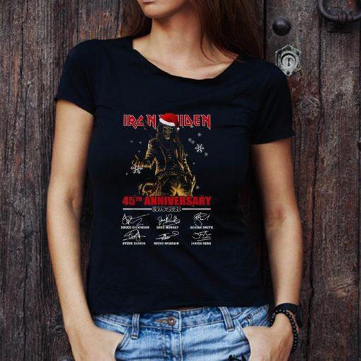 Hot Iron Maiden Santa 45th anniversary 1975 2020 signatures shirt 3 1 510x510 - Hot Iron Maiden Santa 45th anniversary 1975 2020 signatures shirt