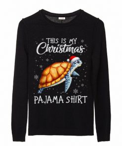 Hot This Is My Christmas Pajama Shirt Gift For Turtle Lover sweater 2 1 247x296 - Hot This Is My Christmas Pajama Shirt - Gift For Turtle Lover sweater
