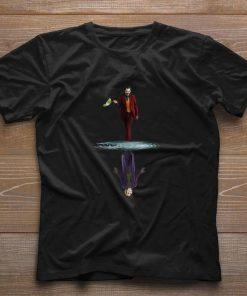 Joker Joaquin Phoenix Water Mirror Reflection Joker Heath Ledger shirt 1 1 247x296 - Joker Joaquin Phoenix Water Mirror Reflection Joker Heath Ledger shirt