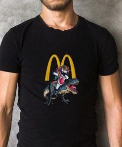 Mcdonald s Unicorn dabbing riding T Rex dinosaur shirt 2 1 247x296 - Mcdonald's Unicorn dabbing riding T-Rex dinosaur shirt