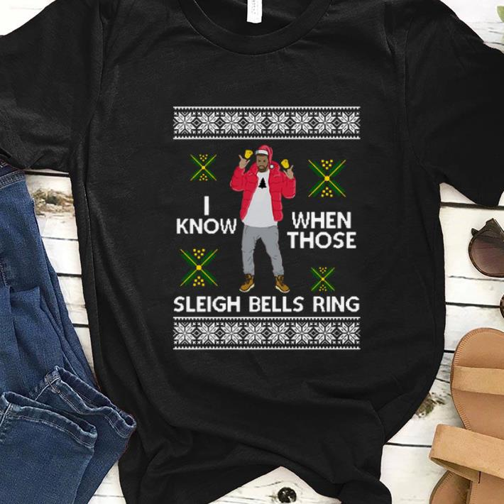 Nice Drake I Know When Those Sleigh Bells Ring Ugly Christmas Shirt Kutee Boutique