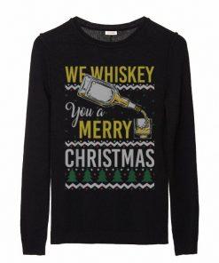 Nice We Whiskey You A Merry Christmas Ugly Sweater Funny Xmas sweater 2 1 247x296 - Nice We Whiskey You A Merry Christmas Ugly Sweater Funny Xmas sweater