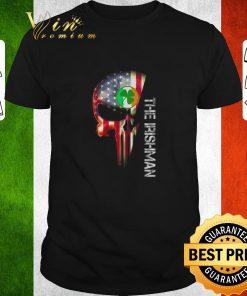 Official American flag skull The Irishman St Patrick s Day shirt 1 1 247x296 - Official American flag skull The Irishman St Patrick's Day shirt