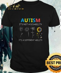 Official Autism it s not a disability it s a different ability sunflower shirt 1 1 247x296 - Official Autism it's not a disability it's a different ability sunflower shirt