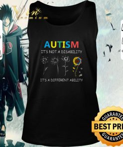 Official Autism it s not a disability it s a different ability sunflower shirt 2 1 247x296 - Official Autism it's not a disability it's a different ability sunflower shirt