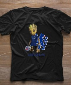 Official Baby Groot Chelsea FC shirt 1 1 247x296 - Official Baby Groot Chelsea FC shirt