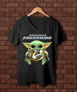 Official Baby Yoda Hug Nashville Predators NHL shirt 1 1 247x296 - Official Baby Yoda Hug Nashville Predators NHL shirt