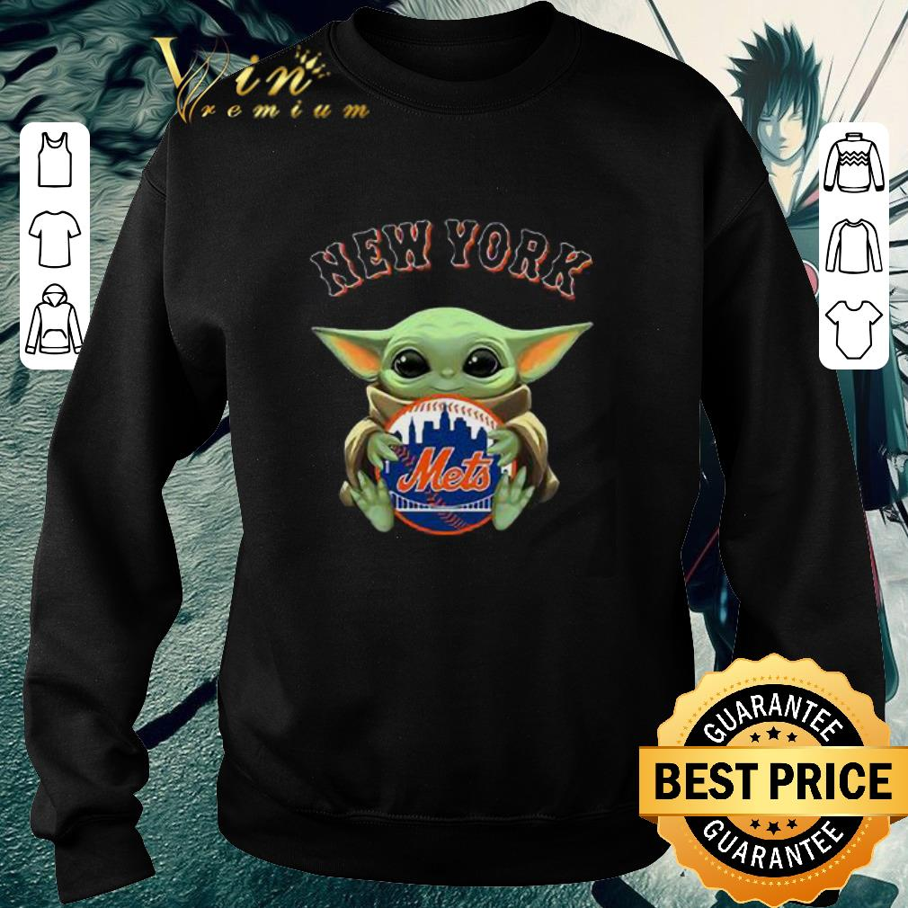 Official Baby Yoda Hug New York Mets Star Wars shirt