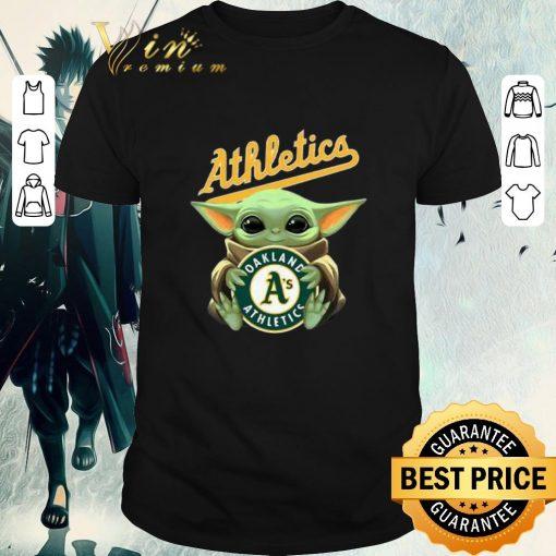 Official Baby Yoda Hug Oakland Athletics Star Wars shirt 1 1 510x510 - Official Baby Yoda Hug Oakland Athletics Star Wars shirt