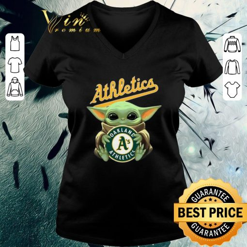 Official Baby Yoda Hug Oakland Athletics Star Wars shirt 3 1 510x510 - Official Baby Yoda Hug Oakland Athletics Star Wars shirt