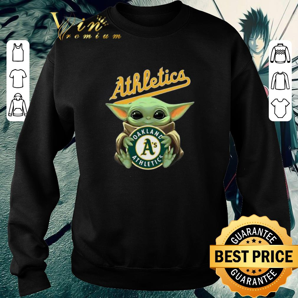 Official Baby Yoda Hug Oakland Athletics Star Wars shirt