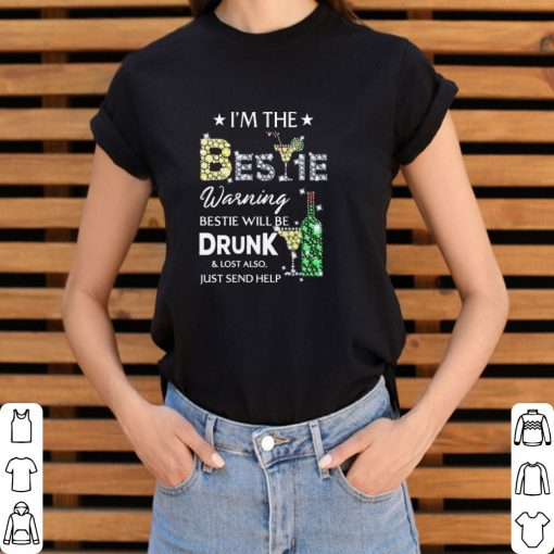 Official Diamond i m the Bestie warning Bestie will be drunk lost also shirt 3 1 510x510 - Official Diamond i'm the Bestie warning Bestie will be drunk & lost also shirt