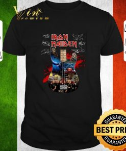 Official Iron Maiden all signature guitar shirt 1 1 247x296 - Official Iron Maiden all signature guitar shirt