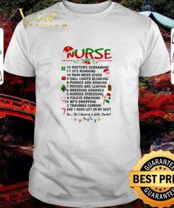 Official Nurse Santa doctors screaming i ve running pain meds given shirt 1 1 247x296 - Official Nurse Santa doctors screaming i've running pain meds given shirt