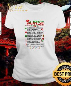 Official Nurse Santa doctors screaming i ve running pain meds given shirt 2 1 247x296 - Official Nurse Santa doctors screaming i've running pain meds given shirt