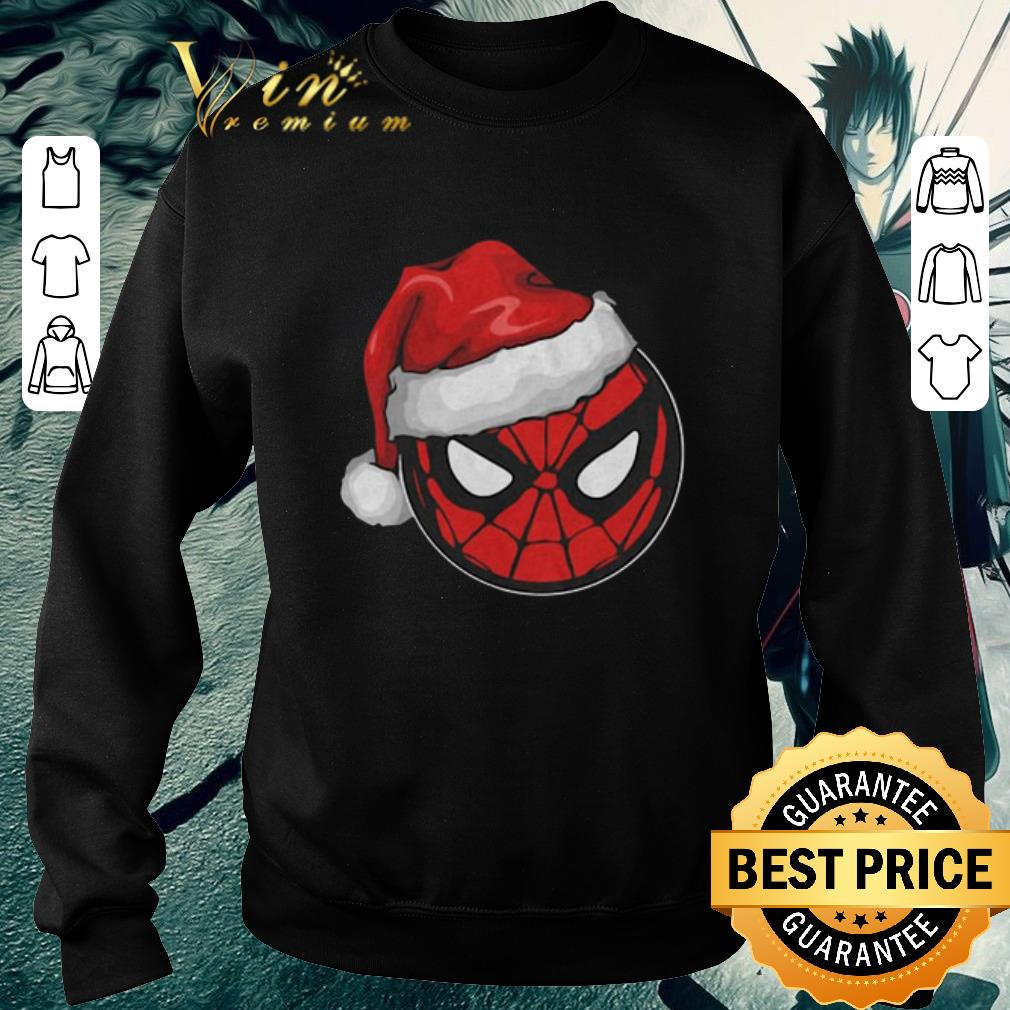 Official Santa Spider Man Christmas shirt