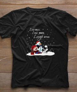 Official Snoopy Charlie Brown Live well love much laugh often Christmas shirt 1 1 247x296 - Official Snoopy Charlie Brown Live well love much laugh often Christmas shirt