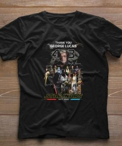 Official Thank you George Lucas all signature Star Wars 1977 2020 shirt 1 1 247x296 - Official Thank you George Lucas all signature Star Wars 1977 2020 shirt
