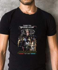 Official Thank you George Lucas all signature Star Wars 1977 2020 shirt 2 1 247x296 - Official Thank you George Lucas all signature Star Wars 1977 2020 shirt