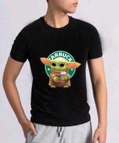 Original Star Wars Baby Yoda Hug Starbucks shirt 2 1 247x296 - Original Star Wars Baby Yoda Hug Starbucks shirt