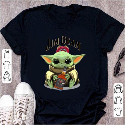Premium Baby Yoda Hug Jim Beam shirt 1 1 510x510 - Premium Baby Yoda Hug Jim Beam shirt