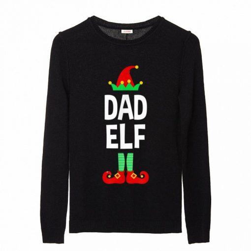 Premium Dad Elf Family Matching Christmas Pajamas sweater 2 1 1 510x510 - Premium Dad Elf Family Matching Christmas Pajamas sweater