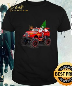 Premium Santa And Reindeer On Monster Truck Christmas Tree shirt 1 1 247x296 - Premium Santa And Reindeer On Monster Truck Christmas Tree shirt