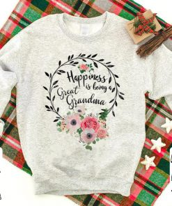 Pretty Happiness Is Being A Great Grandma Floral shirt 1 1 247x296 - Pretty Happiness Is Being A Great Grandma Floral shirt