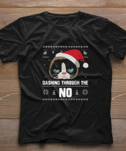 Santa Cat Dashing Through The No Ugly Christmas sweater 1 1 247x296 - Santa Cat Dashing Through The No Ugly Christmas sweater