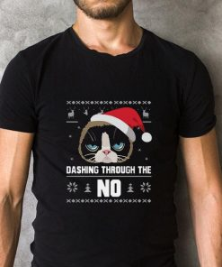 Santa Cat Dashing Through The No Ugly Christmas sweater 2 1 247x296 - Santa Cat Dashing Through The No Ugly Christmas sweater