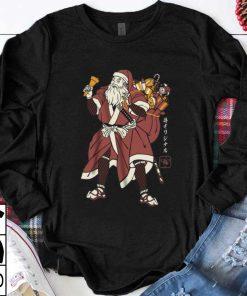 Top Santa Claus Samurai shirt 1 1 247x296 - Top Santa Claus Samurai shirt