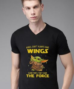 Awesome Baby Yoda Angel Don t Always Have Wings Sometimes They Have The Force shirt 2 1 247x296 - Awesome Baby Yoda Angel Don't Always Have Wings Sometimes They Have The Force shirt