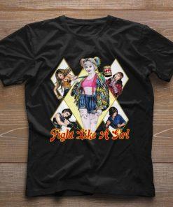 Funny Fight Like A Girl Harley Quinn Birds of Prey shirt 1 1 247x296 - Funny Fight Like A Girl Harley Quinn Birds of Prey shirt