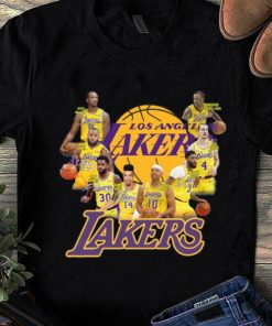 Great Los Angeles Lakers NBA Players Team Signatures shirt 1 1 247x296 - Great Los Angeles Lakers NBA Players Team Signatures shirt