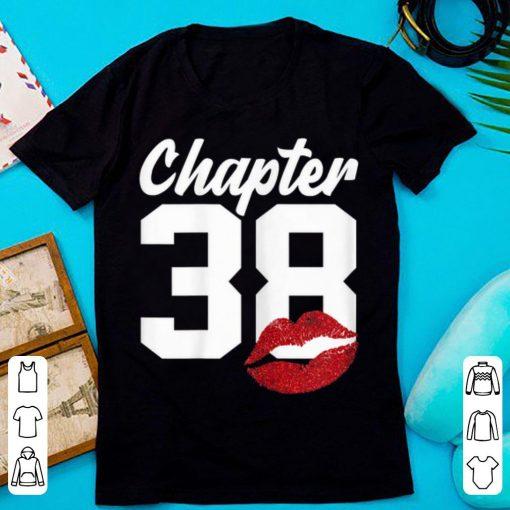 Hot Chapter 38 Lips Happy 38th Birthday shirt 1 1 510x510 - Hot Chapter 38 Lips Happy 38th Birthday shirt