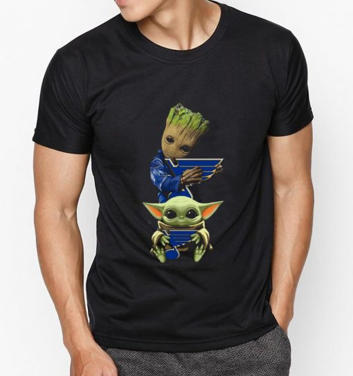 Nice Baby Yoda and Baby Groot hug St Louis Blues shirt 3 1 510x543 - Nice Baby Yoda and Baby Groot hug St. Louis Blues shirt