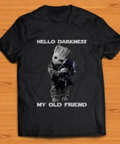 Nice Hello Darkness My Old Friend Baby Groot Hugs Darth Vader shirt 1 1 247x296 - Nice Hello Darkness My Old Friend Baby Groot Hugs Darth Vader shirt