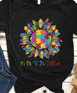Official Autism Sunflower It s Ok To Be Different shirt 1 1 247x296 - Official Autism Sunflower It's Ok To Be Different shirt