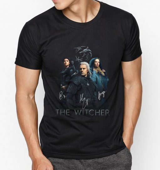 Official The Witcher Wild Hunt characters signatures shirt 3 1 510x543 - Official The Witcher Wild Hunt characters signatures shirt