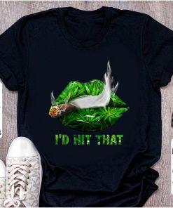Original Smoke Weed I d Hit That shirt 1 1 247x296 - Original Smoke Weed I'd Hit That shirt