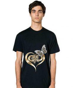 Premium Butterfly Love New Orleans Saints shirt 2 1 247x296 - Premium Butterfly Love New Orleans Saints shirt