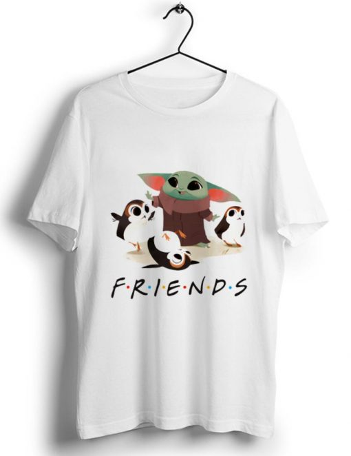 Top Star Wars Porgs and Baby Yoda Friends TV show shirt 1 1 510x662 - Top Star Wars Porgs and Baby Yoda Friends TV show shirt