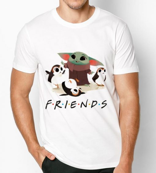 Top Star Wars Porgs and Baby Yoda Friends TV show shirt 3 1 510x565 - Top Star Wars Porgs and Baby Yoda Friends TV show shirt