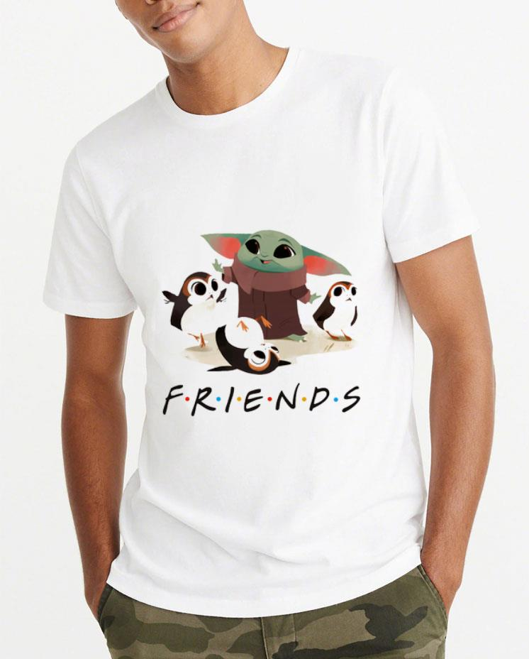 Top Star Wars Porgs and Baby Yoda Friends TV show shirt