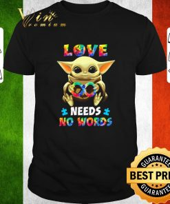 Awesome Baby Yoda Autism love needs no words Star Wars shirt 1 1 247x296 - Awesome Baby Yoda Autism love needs no words Star Wars shirt