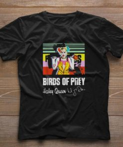 Awesome Birds of Prey Harley Quinn signature vintage shirt 1 1 247x296 - Awesome Birds of Prey Harley Quinn signature vintage shirt
