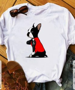 Awesome Boston Terrier I love mom Tattoos shirt 1 1 247x296 - Awesome Boston Terrier I love mom Tattoos shirt