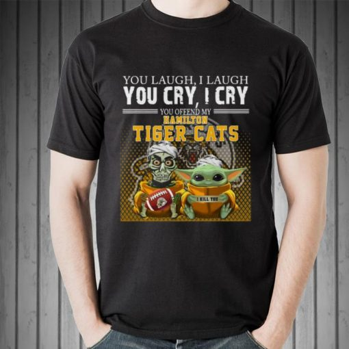 Awesome Jeff Dunham and Baby Yoda you laugh I laugh you cry I cry you offend my Hamilton Tigers Cats shirt 2 1 510x510 - Awesome Jeff Dunham and Baby Yoda you laugh I laugh you cry I cry you offend my Hamilton Tigers Cats shirt